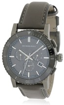 Burberry BU9384 The City Chronograph Ion Plated - Ceramic Bezel 42mm - Warranty - $450.00