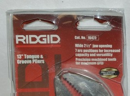 Ridgid 16473 13 inch tongue groove pliers 7 arc positions image 2