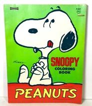 Vintage 1958 Snoopy Peanuts Coloring Book Charles Schultz Artcraft A1932 - $12.94