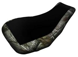Suzuki Eiger 400 Seat Cover Black And Camo Year 2000 To 2006 - $32.54