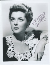 Ann Rutherford signed photo. Gone With The Wind star. Classy !! - $32.95