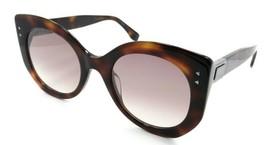 Fendi Sunglasses FF 0265/S 086NQ 52-23-140 Dark Havana / Pink Gradient Mirror - $196.00