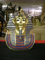 UNIQUE Gold Mask of Tutankhamun Statue Made in Egypt - $299.00