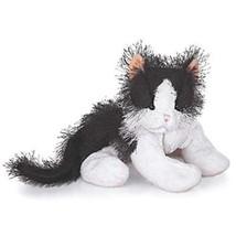 Ganz Webkinz BLACK & WHITE CAT HM016 Beanbag Plush Only - No Code - $3.55