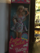 1995 Easter Party Barbie Special Edition Mattel Collector make a basket ... - $17.33