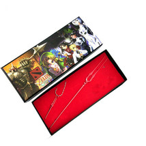 Neon Genesis Evangelion Lance of Longinus Modelling Necklace and Fork Se... - $11.84