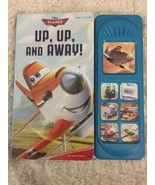 Play A Sound Disney Planes Up Up And Away Kids Hardcover Books Sounds Bu... - $4.50