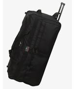 "Large 42"" Rolling Wheeled Duffel Bag 5799 Luggage Jumbo Over Sized Trave... - $69.19"