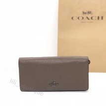 NWT Coach 23590 Bifold Slim Wallet Wristlet Leather Colorblock Fatigue M... - $74.95
