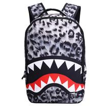 Running tiger student waterproof Leopard shark rucksack - $26.00