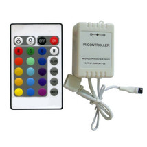 RGB LED Ambient Color Changing Illuminate Mood Lighting Light Remote Controller - $6.95