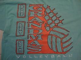 Vintage Minneapolis Grandmas Volleyball Sports Fan Green T Shirt Size XL - $12.86