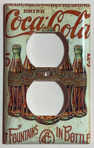 5 Cents Coke Bottles Old Poster Light Switch Outlet Wall Cover Plate Home Decor image 3