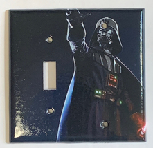Star Wars Darth Vader Light Switch Power Outlet Wall Cover Plate Home Decor image 7