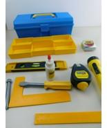 Kids Play Pretend Tools Toolbox & Tools - $18.99