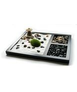 JOICE GIFT Desktop Japanese Zen Garden with Rake 2 Types Stones Lantern ... - $27.67