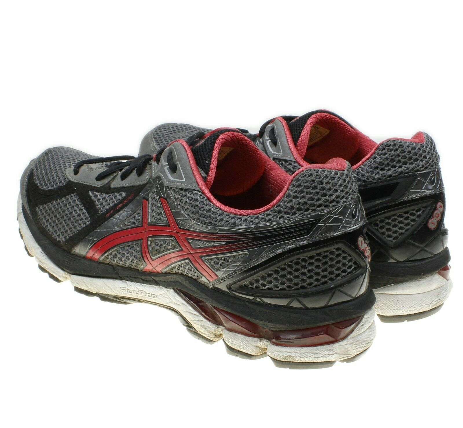 Asics GT 2000 v 3 Gray Mens Size 11.5 EU 46 Running Shoes Sneakers T500N image 5