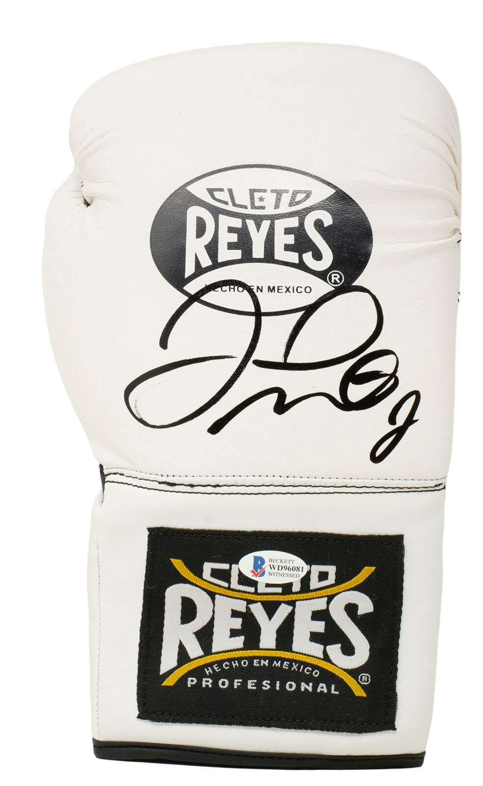 Primary image for Floyd Mayweather Signed Right White Cleto Reyes Boxing Glove BAS ITP Hologram