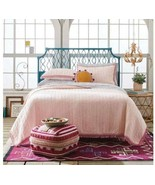 Opalhouse Pink Dot Texture Quilt & Sham Set Twin XL Opal New - $79.19