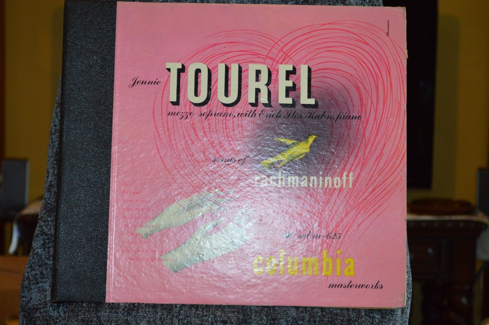Jennie Tourel, Songs of rachmaninoff, Vinyl set