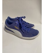 Nike Women Suede Lace Up Sneakers Purple Size 7 - $37.39