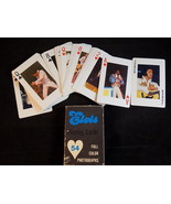 VINTAGE ELVIS PRESLEY PLAYING CARD DECK FULL COLOR PHOTOS w/ Original Box - $14.84