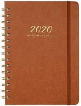 2020 Planner - Weekly, Monthly and Yearly Planner with Monthly Tabs, 6.3... - $9.76