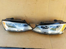 2011-18 Volkswgen Jetta Halogen Headlight Head lights Lamps Set L&R image 1