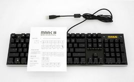 Xenics StormX Titan Mark 3 Mechanical Gaming Keyboard Korean English USB Wired image 7