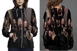 Deicide 2014 Popular Hoodie Zipper Fullprint For Women - $48.99+