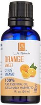 L A NATURALS Orange Sweet Essential Oil, 0.02 Pound - $16.19