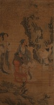 """Jiang Xun (1736-1795) A fine Chinese """"Scholar"""" Scroll Painting on paper  - $8,250.00"""