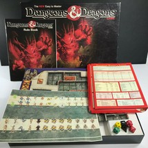 Vintage Easy to Master Dungeons & Dragons TSR 1070 Board Game Unpunched COMPLETE - $89.98