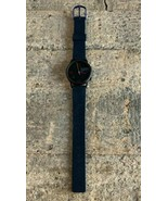 Vintage Guess Unisex Multicolor Dial Black Rubber Band Analog Watch - $18.91