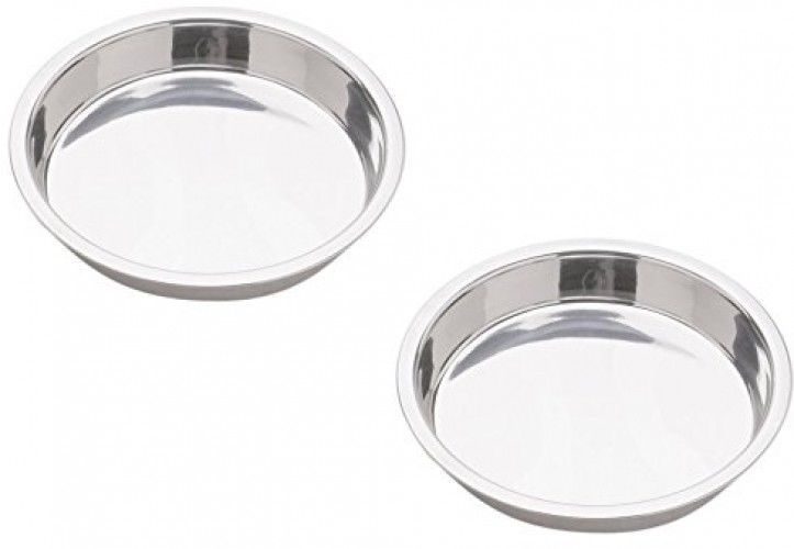 Norpro 9-Inch Stainless Steel Cake Pan, Round - $43.69