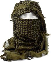 "Olive Drab Shemagh Lightweight Arab Tactical Desert Keffiyeh Scarf - 43""... - $8.95"