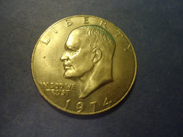 1974 EISENHOWER DOLLAR                             COMBINED SHIPPING - £3.12 GBP