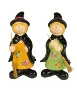 "Club Pack of 36 Friendly Halloween Witch Table Top Figurines 8"" - $46.46"