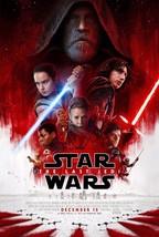 "Star Wars The Last Jedi Movie Poster Episode VIII Film 14x21"" 24x36 27x4... - $10.90+"