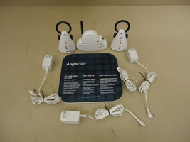 Angelcare Movement & Sound Monitor White/Blue 2 Parent Units AC201 - $67.97