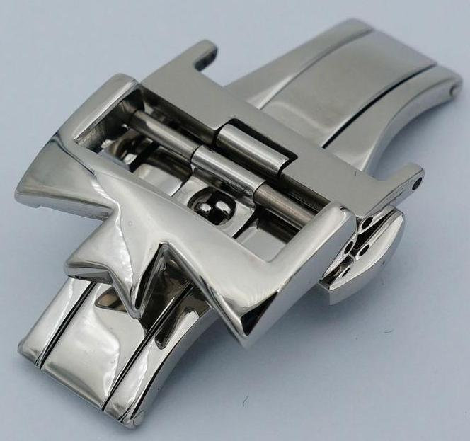 Primary image for GRANDPRIX 316L Steel Watch Clasp 18mm 20mm B-Buckle For Vacheron Constantin