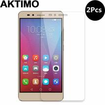 2Pcs/Lot For Huawei Honor 5X X5 GR5 5.5inch Screen Protector Protective Film 9H  - $11.85