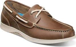 Nunn Bush Bayside Lites Two Eye Boat Shoes $80 NEW in Brown Leather - $79.99