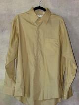 Men's Joseph Abboud Dress Shirt 100% Egyptian Combed Cotton 16 Long Sleeve - $18.46 CAD