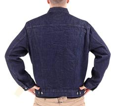 Levi's Men's Premium Cotton Button Up Denim Jeans Jacket Dark Blue 723350039 image 4