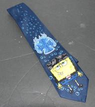Nickelodeon SpongeBob Squarepants Choppers Navy Blue Necktie - $11.98