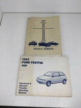 1992 Ford Service Manual & Wiring Diagram Festiva - $22.72