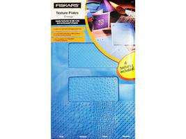 "Fiskars Texture Plates ""Energy"", 4 Textures Included #5662"