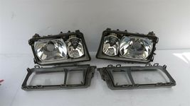 Mercedes W201 190E 190D 2.3-16 Cosworth 16v Euro Headlight Set L&R image 7