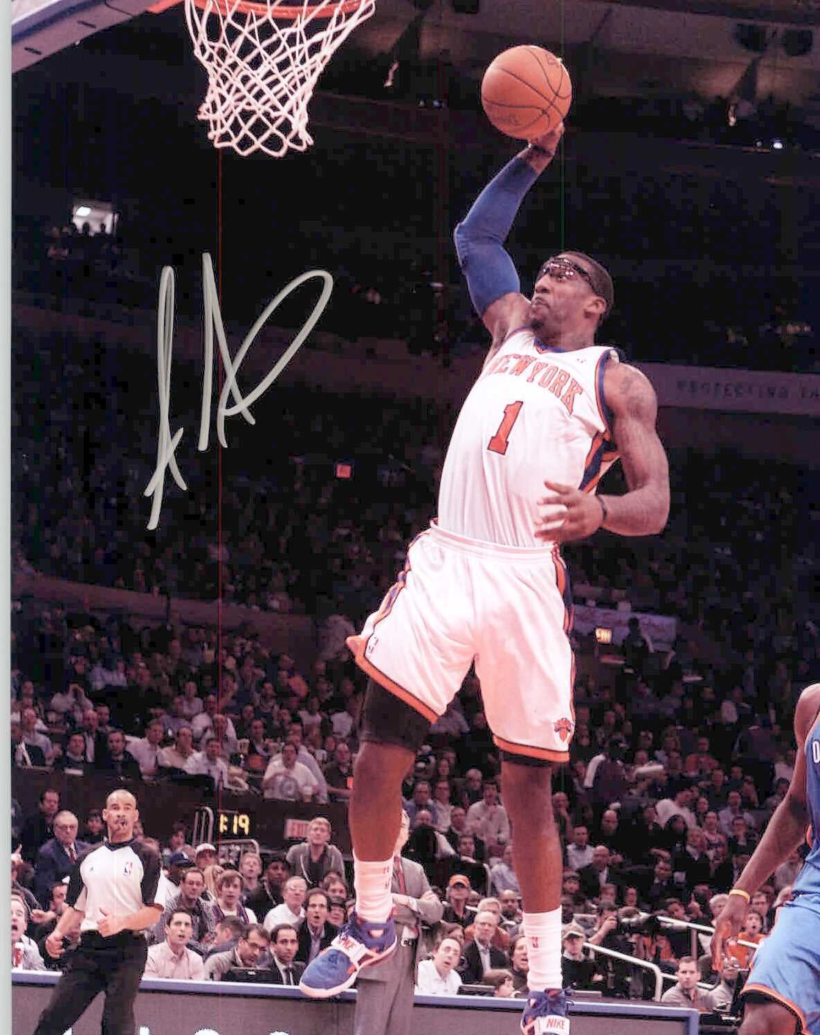 Primary image for Amar'e Stoudemire Signed Autographed Glossy 8x10 Photo - New York Knicks